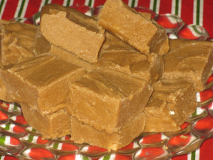 Homemade  fudge and cookie recipes will be coming soon.