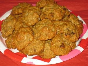 Banana & Pineapple cookies